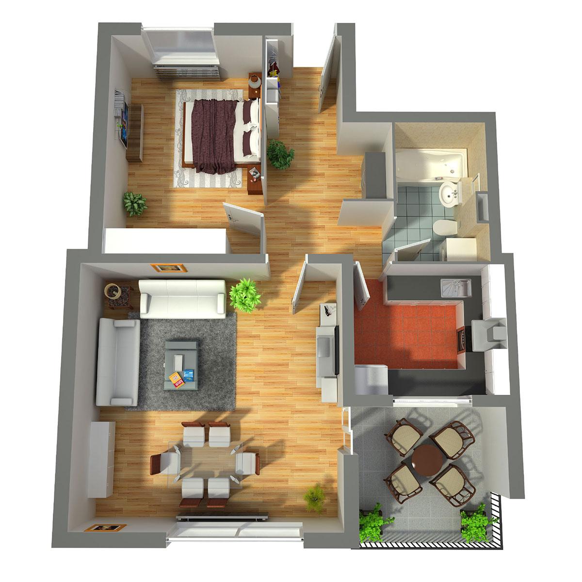 Wohnungstyp D