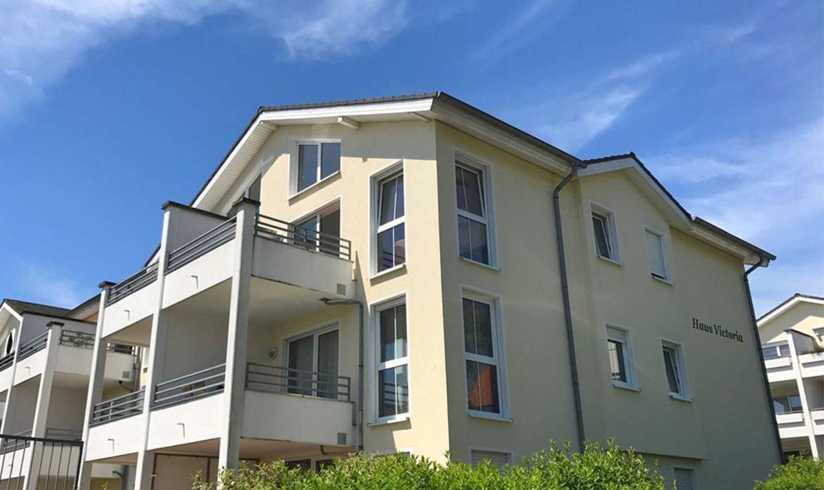 verkauft - Penthouse mit Balkon ,Meerblick, möbliert, Strandkorb