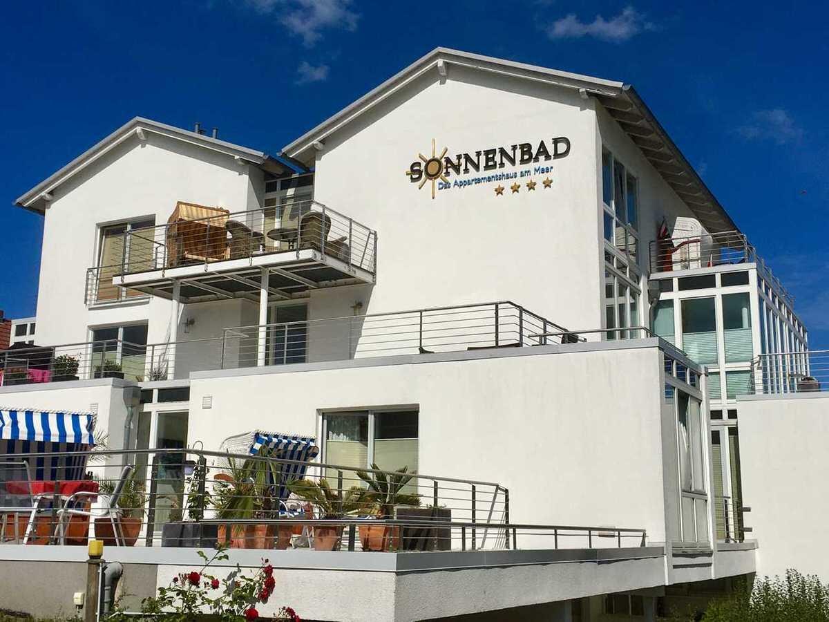 Rügen Sassnitz Haus Sonnenbad